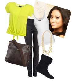 """Emily Fields Style"" by nikola87 on Polyvore"
