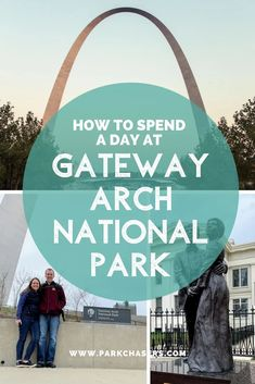 A Day At Gateway Arch National Park - Converted from a monument in 2018, Gateway Arch National Park offers  something for everyone, including a fun way to spend the day as a  family.Park Chasers Usa Travel Guide, Travel Usa, Travel Tips, Congaree National Park, Badlands National Park, California National Parks, Us National Parks, National Park Passport, Gateway Arch