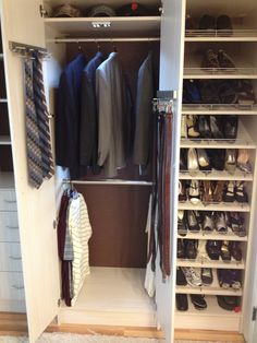 This New Closed Closet System In Elk Grove Looks Fantastic In Our Custom  Arctic Thermafoil,