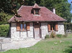 FranceHouseHunt: Charming cottage with guest house, garden and views,, For Sale Listing Details French Property, Gazebo, Home And Garden, Cottage, Outdoor Structures, Cabin, House Styles, Home Decor, Kiosk