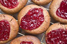 Peanutbutter&Jam Cookies (vegan, glutenfree)