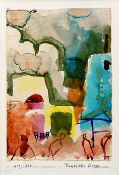 Paul Klee - Tunesische Scizze, 1914.212.