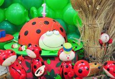 TUDO PRA SUA FESTA: Festa infantil -Tema Joaninhas