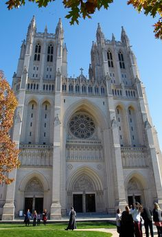 Washington National Cathedral. Washington, D.C.