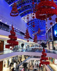 """METROPOLIS SHOPPING CENTRE, Moscow, Russia, """"It is the most wonderful time of the year"""", photo by Оля Pozdeich, pinned by Ton van der Veer"""