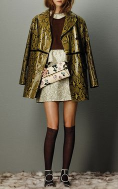 Marni Flash Collection Pre-Fall 2015 Trunkshow Look 2 on Moda Operandi