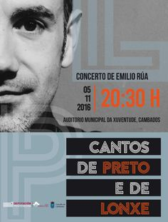 CORES DE CAMBADOS: CONCERTO DE EMILIO RÚA NO AUDITORIO DA XUVENTUDE