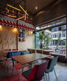 settle in for some food truck fare in the comfort of a proper restaurant at Tel Aviv's Truck Deluxe Restaurant Bar, Restaurant Design, Cafe Bar, Angkor, How To Clean Bbq, Pubs And Restaurants, Best Interior Design, Coffee Shop, Tel Aviv
