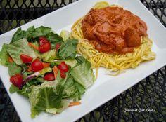 Gourmet Girl Cooks: Saturday Night's Hungarian Style Chicken Paprikash...