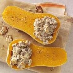 We love butternut squash!  An easy recipe for the fall!