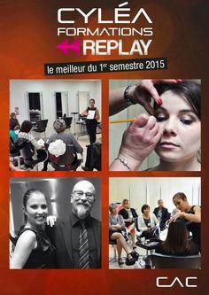 Partenariat avec École Scotto di Cesare, Maquillage pour coiffeur par Clémence Cherel
