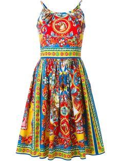 Dolce & Gabbana Vestido estampado