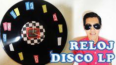 DIY: Cómo hacer un reloj de pared con un disco LP / RETRO 1950'S