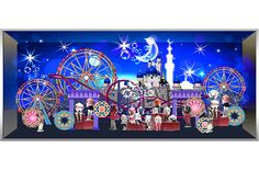 Miniature Theme Park Concept for Window Display on Behance
