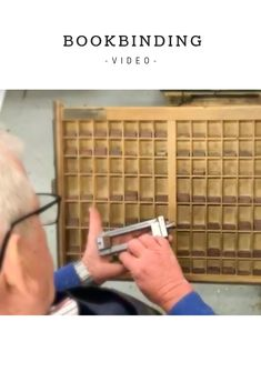 In this video, you will see Gerry binding a personalised Memorable Moments Ireland newspaper book. Book Binding, Newspaper, Ireland, How To Memorize Things, In This Moment, Books, Libros, Book, Book Illustrations