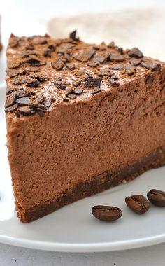 Chocolate Cappuccino Cheesecake Recipe