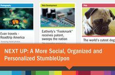 The new Stumbleupon is LIVE (Beta)