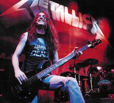 Cliff Burton of Metallica, b. February 10, 1962 d. September 27, 1986