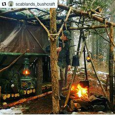 "38 Likes, 5 Comments - CULTUREMEN (@guiaculturemen) on Instagram: ""Nuevo día, nuevo fuego... Foto: @scablands_bushcraft ・・・ Maintaining the fire  . . . . #bushcraft…"""