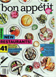 Best New Restaurants, Bon Appetit September 2015 Volume 60 Number 9