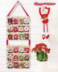 Calendario com papel