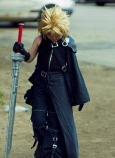 cosplay kids | Final Fantasy Cosplay: Final Fantasy Cloud Cosplay: Kids' Show Time
