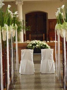 Die 43 Besten Bilder Von Hochzeit Kirchenschmuck Church Wedding