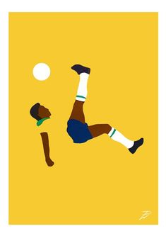 Pele (New 2020) Poster Print. A4/A3, Pele, Football, Brazil, Art, Pop Art, Card, Modern, Poster