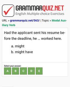 English Grammar Quiz, English Grammar Exercises, English Quiz, English Course, English Idioms, Learn English, English Language, English For Tourism, Present Perfect