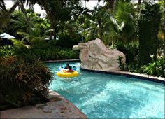 Hilton Rose Hall Resort Lazy River Photo credit: Sherry Laskin