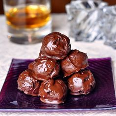 Bourbon Balls...or Rum Balls...or Brandy Balls...or... - keep these spirited chocolate beauties in mind for all the upcoming Holiday celebrations.