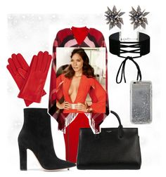 """""""Untitled #2080"""" by princhelle-mack ❤ liked on Polyvore featuring Amie, Gianvito Rossi, Yves Saint Laurent, Miss Selfridge, Alexis Bittar, Agent 18, Burberry and Gizelle Renee"""