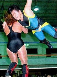Japanese Female Wrestling: Dynamite Kansai wrestling Lola Gonzalez in Japan