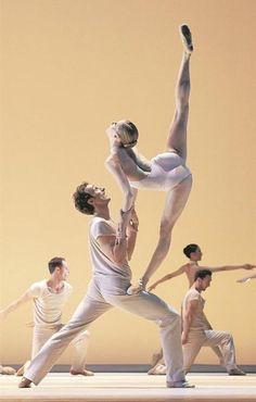 Olga Esina and Roman Lazik, photo Michael Pohn - Ballet, балет, Ballerina, Балерина, Dancer, Danse, Танцуйте, Dancing
