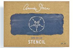 <p>Annie Sloan's Sand Dollar stencil design is inspired by coastal and harbour-side living. Lovely when used in Annie's signature randomly overlapping style, this stencil adds a nautical touch to any project. <span>Apply with your chosen Chalk Paint® paint colour and a foam roller or stencil brush.</span></p> <p>Design: 73mm width x 74mm height<br /> Total Area: 54 cm2</p>