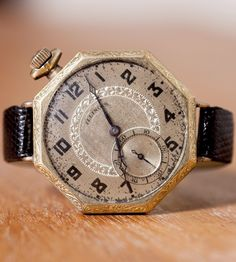 """Vintage Trench Watch """"1927 Hancock"""" 