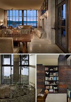 The interior of the giant windows home. Also lovely : )