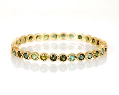 Green Tourmaline Bracelet - explore & shop the new line at www.annaruthhenriques.com!