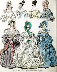 The World of Fashion and Continental Feuilletons 1836 Plate 31