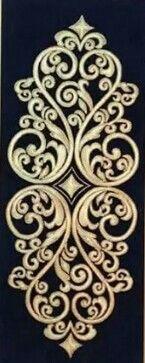 . Pattern Art, Pattern Design, Stencils, Wood Burning Patterns, Steel Art, Stencil Designs, Make Design, Damask, Machine Embroidery