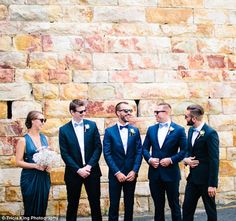Couples are including 'bridesmen' and 'groomswomen' on their wedding day   Daily Mail Online