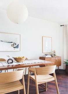 "Muuto's Cover chairs in ""Mel's Living Room Reveal"", styled by Emily Henderson."