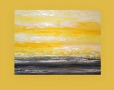 """Arte pittura astratta su tela Galleria dal titolo: Morning Mist 30x40x1.5 10 """"da Ora Birenbaum"""