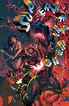 SUPERMAN UNCHAINED #7 Written by SCOTT SNYDER Art and cover by JIM LEE and SCOTT WILLIAMS On sale FEBRUARY 19 • 32 pg, FC, $3.99 US • RATED T It's a rampage in the Batcave! It's come to this: Superman, Batman and Wonder Woman against Wraith! Alone, they wouldn't have a chance – but they don't have much of one together, either! And all the while, Lex Luthor's machinations are clicking into place…
