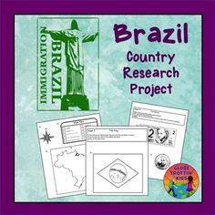 Brazil for kids - printable