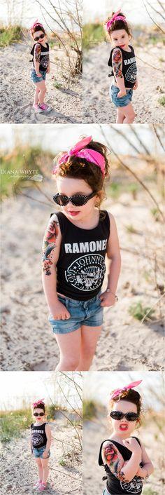 Rockabilly tattoo birthday party girl www.DianaWhytePhotography.com