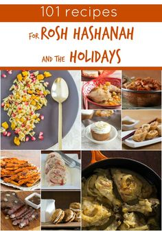 101 recipes for Rosh Hashanah & The Holidays. Individual links to a variety of recipes.