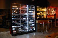 Un encargo de IGR Hostelería para el restaurante Casa Concha en Oviedo Mixer, Liquor Cabinet, Storage, Furniture, Home Decor, Display Stands, Cabinets, Restaurants, Oviedo