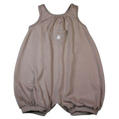 Tendre Deal - 100% jersey cotton baby shortie embroidered star, popper leg openings on the 1st Members only website - 100% kids & French Designers
