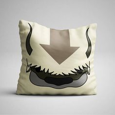 The pillow every Avatar fan need RIGHT NOW. Are you a fan? One of your friends is, and its their birthday? Whatever the reason is, you know you need this. You can get just the pillowcase or with a soft polyester insert. This Appa soft pillow is an excellent addition that gives character